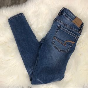 American Eagle Skinny Super Low Jeans